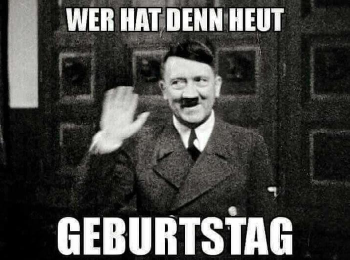 Adolf Hitler Geburtstag Meme
