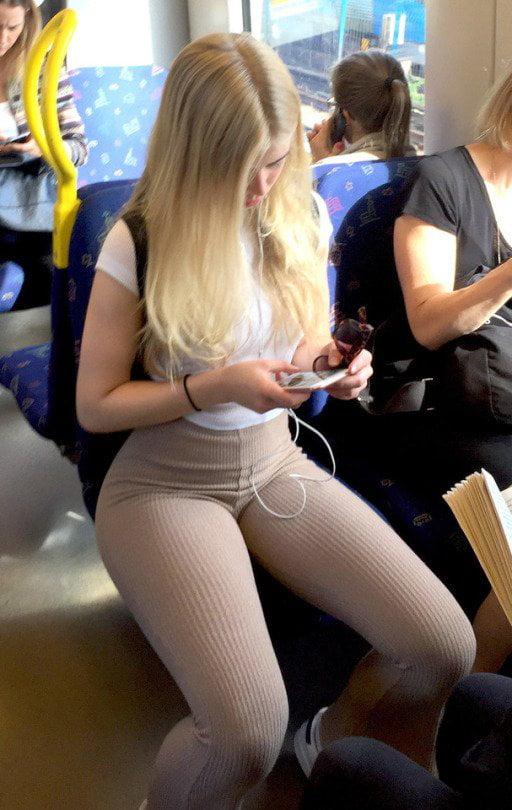 Thicc Weiß Blondine Teen