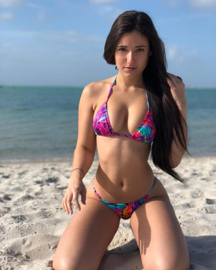Angie varona beach