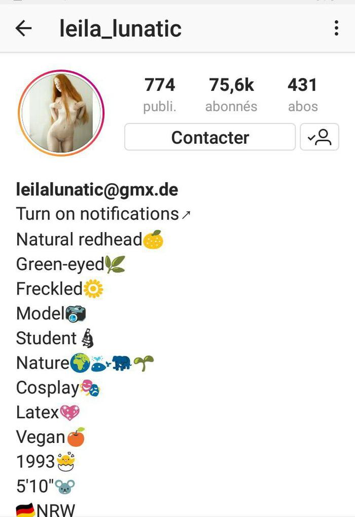 Instagram leila lunatic Leila Lunatic